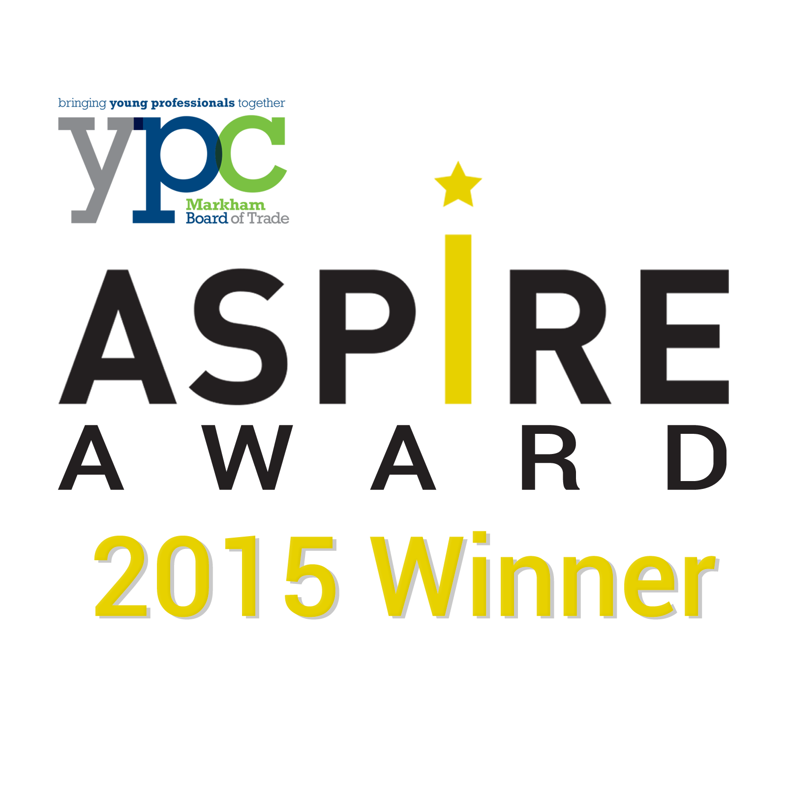 YPC ASPIRE Award - 2015 Winner