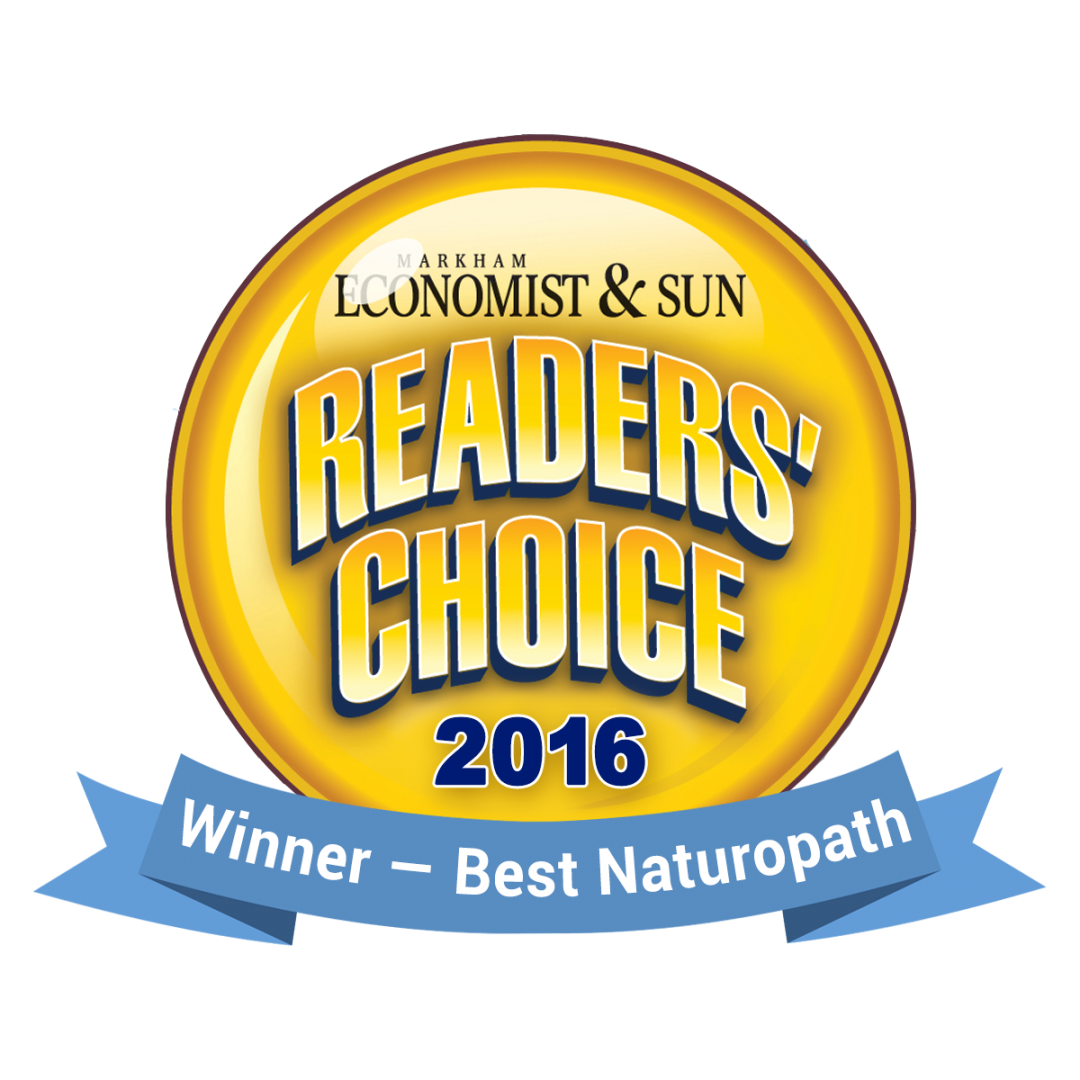 Reader's Choice Award - 2016 Winner, Best Naturopath